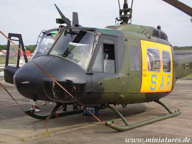 Bell UH-1D SAR helicopter of the German Bundeswehr