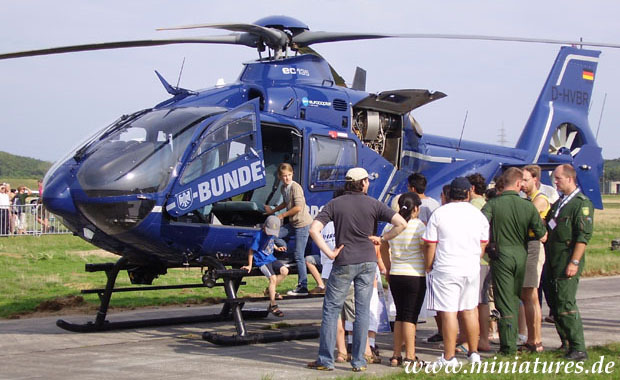 Eurocopter EC-135 of the German federal police