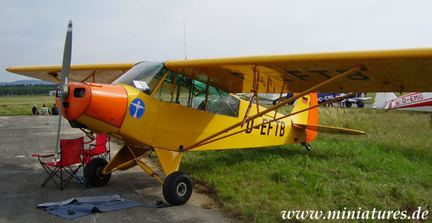 Piper L-18C Super Cub military reconnaissance and liaison aircraft