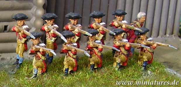 American Revolutionary War Miniatures, 1775–1783