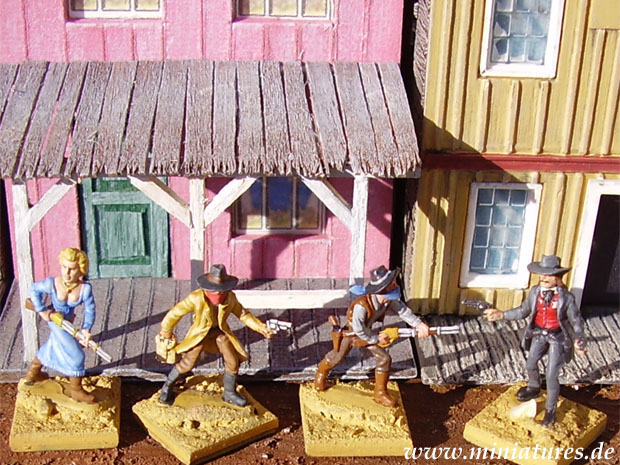 Outlaws and Sheriffs, 1:72 Miniatures Atlantic