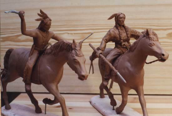 Sioux Warriors, 1:72 Miniatures IMEX 508