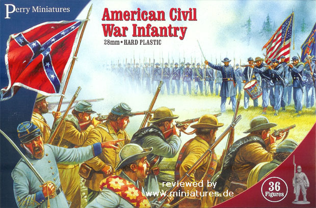 American Civil War Infantry, 1861–1865, 1:60 Perry Miniatures ACW1