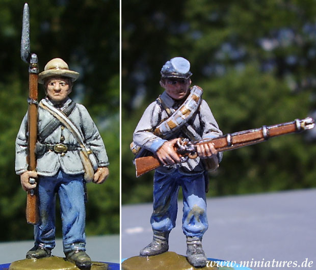 Confederate Infantry, 1861–1865, 1:60 Perry Miniatures ACW1