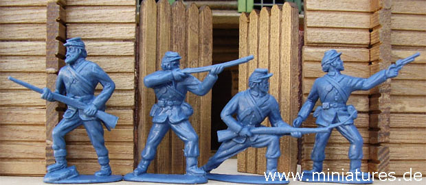 Union Infantry, 1:32 Figures Timpo / Toyway 43504