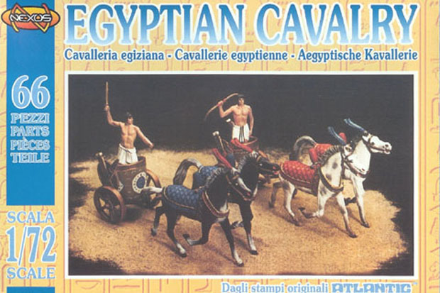 Ancient Egyptian Cavalry Chariots, 1:72 Nexus Atlantic 1802