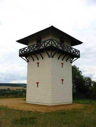 Roman Watchtower Wp 3/26 at Limes Germanicus 83 to 260 a.d.