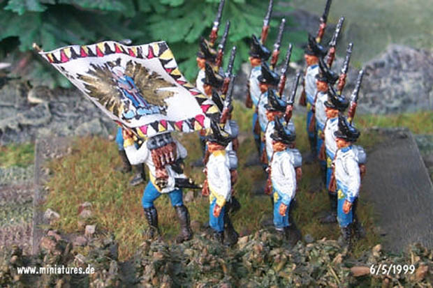 Austrian and Hungarian Infantry of the Napoleonic Wars, 1798–1809, 1:72 Italeri Miniatures 6005