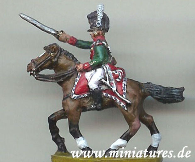 Bavarian Cheveauleger trooper, 1:72 Miniature Hinton Hunt BB33
