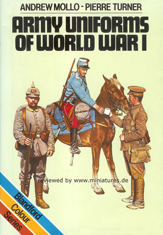 Uniforms of World War I, John Mollo, Pierre Turner
