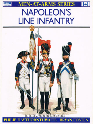 Napoleon's Line Infantry, Osprey Men-At-Arms Series 141