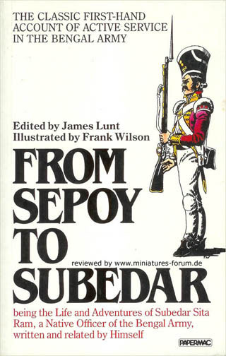 From Sepoy to Subedar, by Sita Ram
