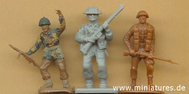 ESCI – Valiant Miniatures – Revell scale comparison