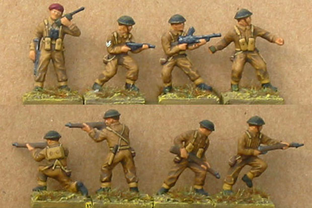 Matchbox 5001 – British Infantry 1940–1945