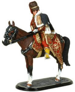 British Lieutenant-General Henry William Paget, 2nd Earl of Uxbridge, 54 mm Miniature Tradition of London