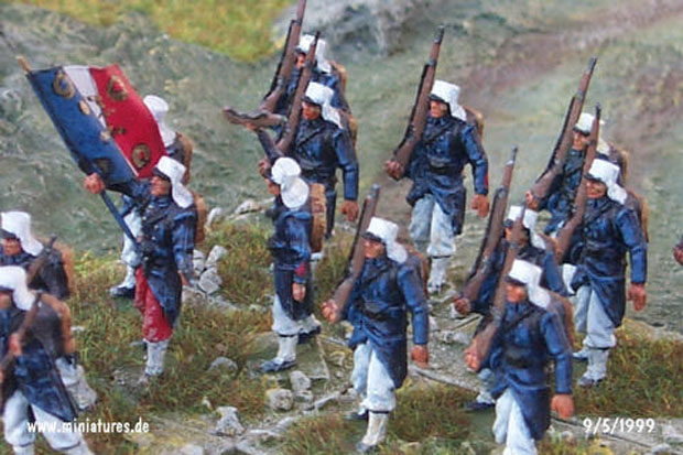 French Foreign Legion, 1:76 Miniatures Airfix 01710