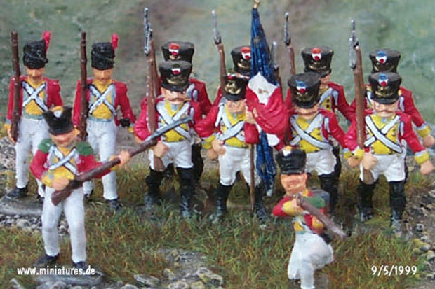 French Infantry of the Napoleonic Wars, 1812–1815, 1:76 Airfix 01744