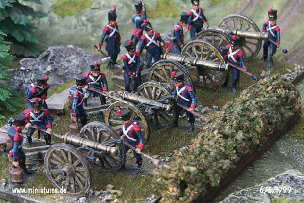 French Artillery with 12-pdr and Austrian 6-pdr Guns</a>, 1:72 Miniatures ESCI P-234, 1:72 Miniatures ESCI P-234