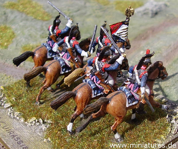French Napoleonic 11th Cuirassiers, 1812–1815, 1:72 Miniatures ESCI P-235