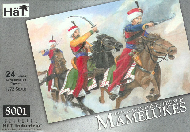 Mamelukes of the French Imperial Guard, Napoleonic Wars, 1805–1815, 1:72 Miniatures HaT Industrie 8001