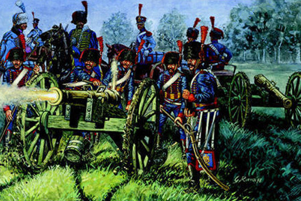 French Napoleonic Guard Horse Artillery, 1806–1814, 1:72 Miniatures Italeri 6018