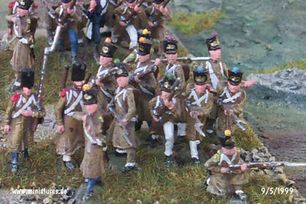 French Line Infantry in Greatcoats, 1:72 Miniatures Revell 02570
