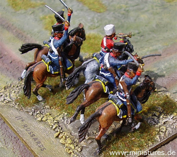 French 11th Hussar Regiment, 1:72 Miniatures Revell 02576