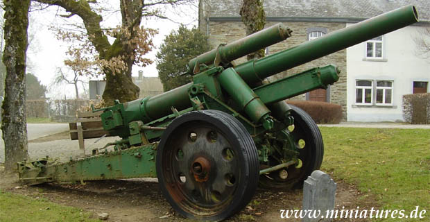 German 15 cm Heavy Field Howitzer sFH 18
