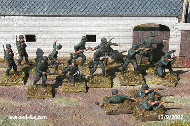 German Infantry, 1939–1944, 1:76 Miniatures Airfix 01705