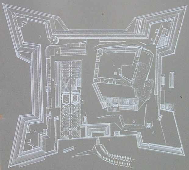 Plan of the Citadel
