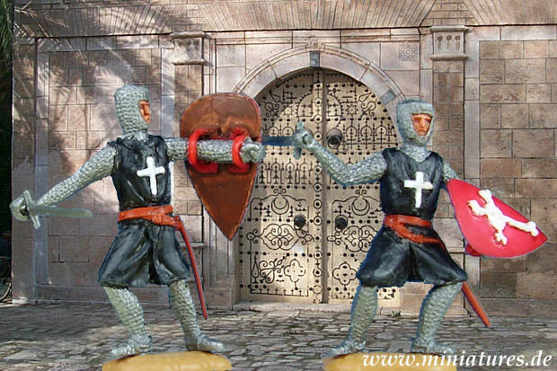 Knights Hospitaller of the Sovereign Military Hospitaller Order of St. John of Jerusalem, 1:32 Figures Timpo