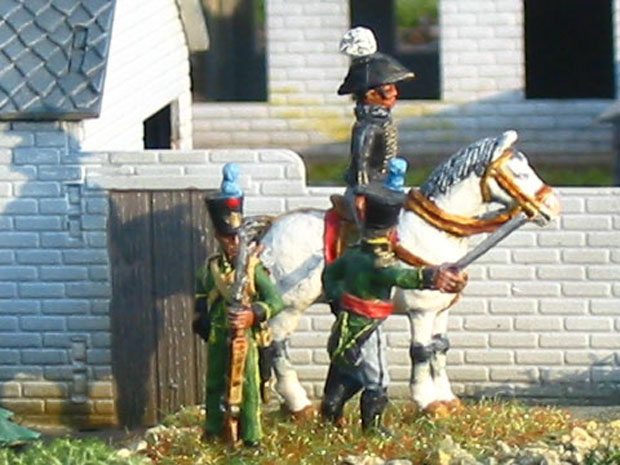 William Prince of Orange-Nassau at Waterloo, 1815, 1:72 Figures Kennington Miniatures NP4