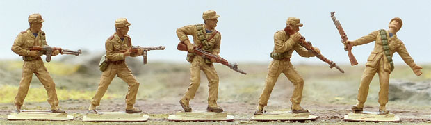 Korean People's Army Infantry of the Korean War, 1950–1953, 1:72 Miniatures IMEX 532
