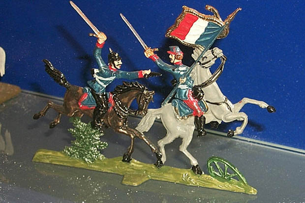 Vignette: cavalry melee during the Franco-Prussian war