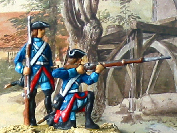 Prussian volunteer light infantry Frei-Bataillon Le Noble
