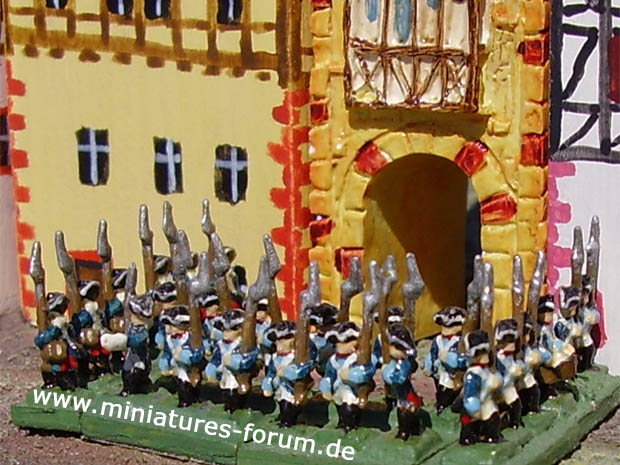 Prussian Frei-Bataillon Le Noble (F1), 5 mm Miniatures Heroics & Ros