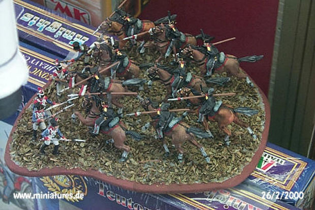 Prussian Napoleonic Uhlans, 1813–1815, 1:72 Miniatures HaT Industrie 8005