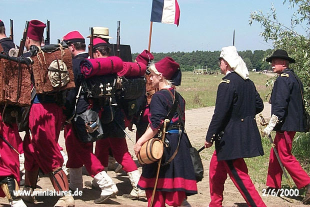 Union Zouave Cantiniere