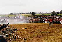 French Artillery at Waterloo, 1995