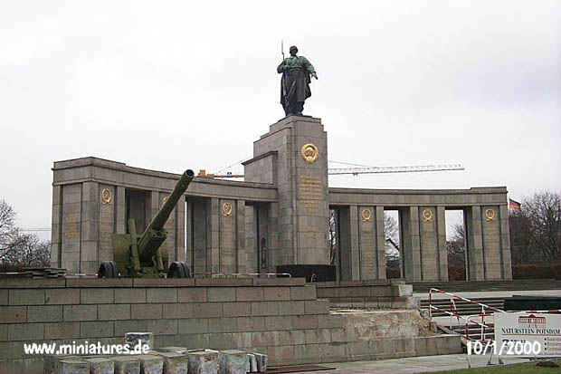 Soviet Army Memorial, Berlin, Germany