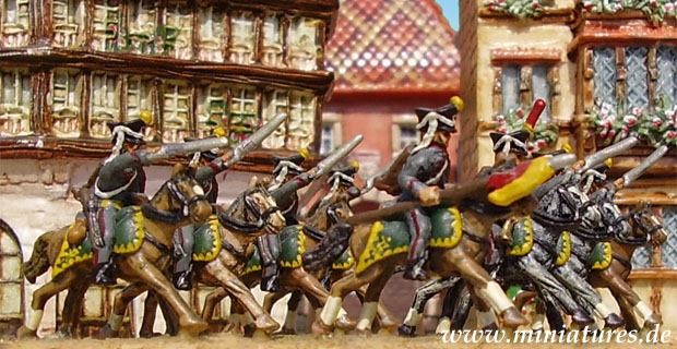 Russian Hussars of the Napoleonic Wars, 15 mm Heritage Miniatures