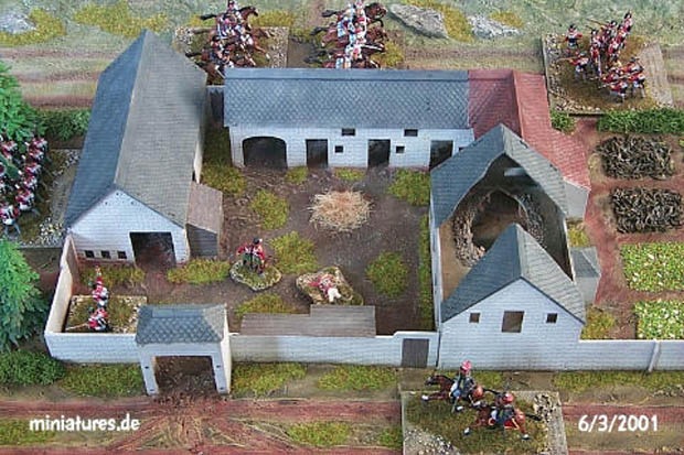 Waterloo Farm – La Haye Sainte, 1:76 Airfix 04738