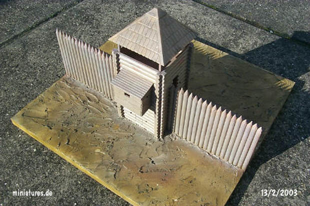 Russian Fort Flank Tower Conversion, 1:72 Model Kit ZVEZDA 8502