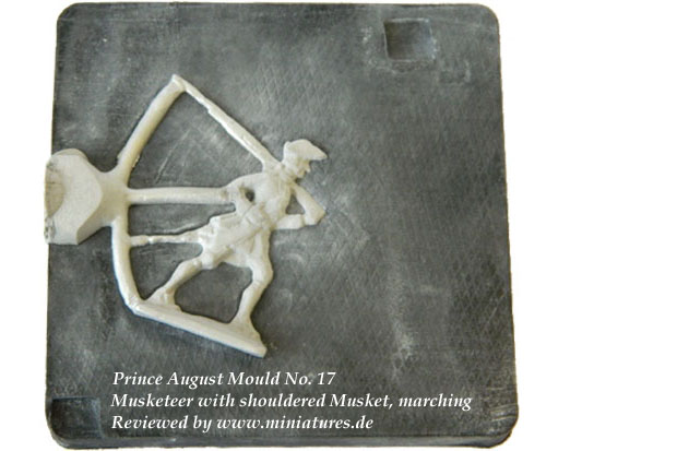 40 mm Musketeer Mould, Prince August 17