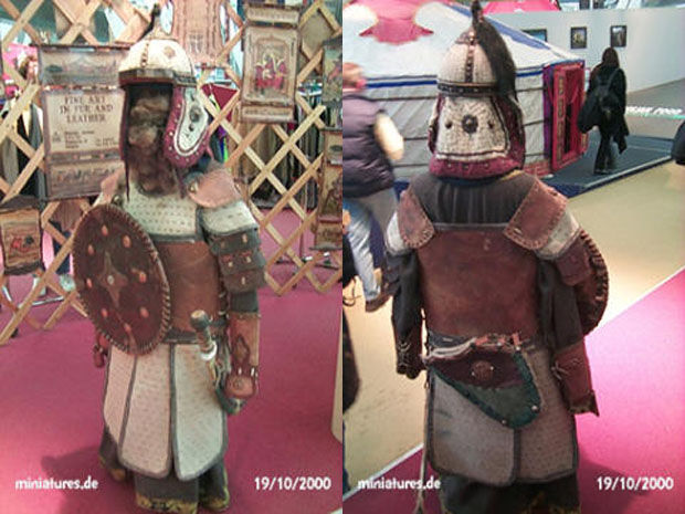 Mongolian leather armour