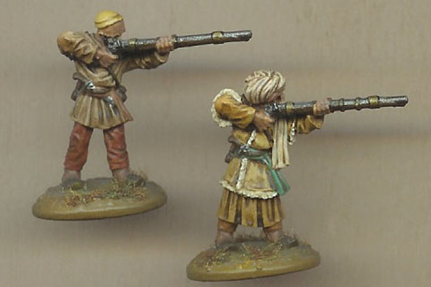 Pathans, 25 mm Miniatures Ral Partha
