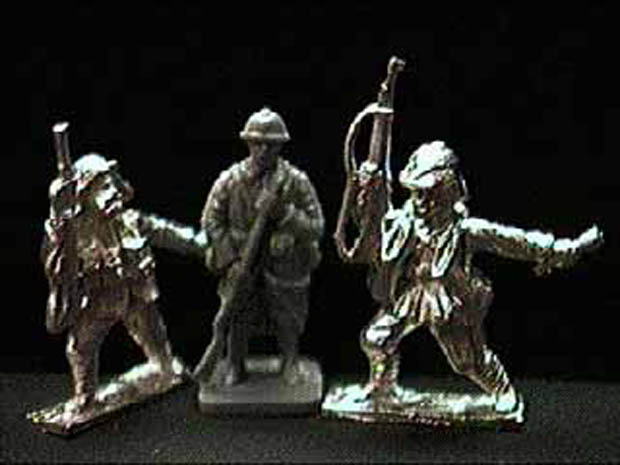 Turkish Infantry, 1916–1918, 1:76 Tumbling Dice OCINF51