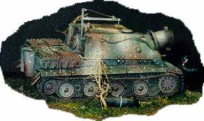 Weathered Sturmtiger