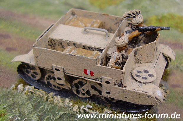 Indian Army Bren Carrier, 1:72 Paper Model