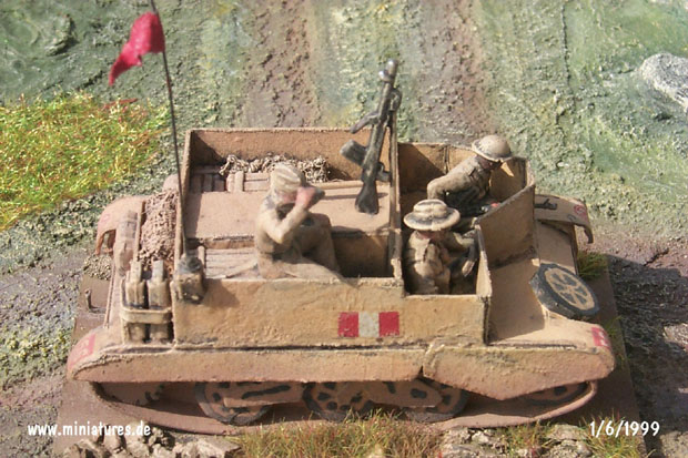 British 8th Army Universal Carrier